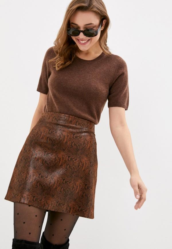 женский джемпер part two, коричневый