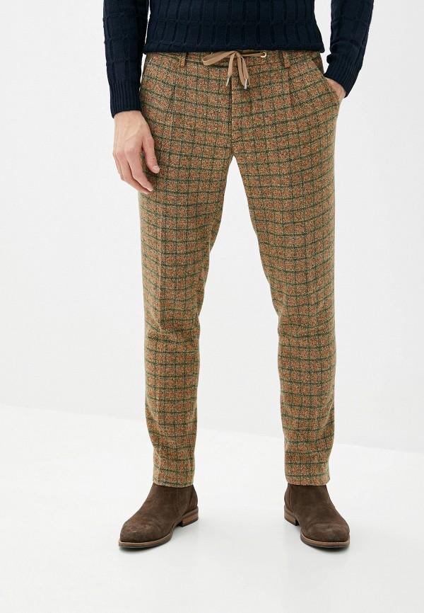 мужские повседневные брюки paul martin's, коричневые