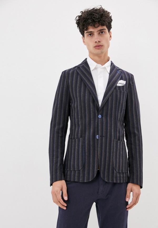 мужской пиджак paul martin's, разноцветный