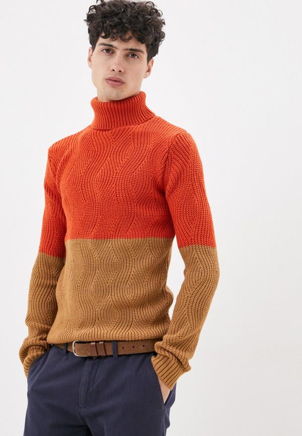 мужской свитер paul martin's, оранжевый