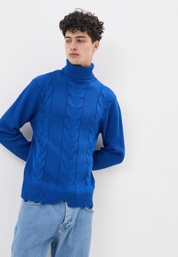 мужской свитер paul martin's, синий