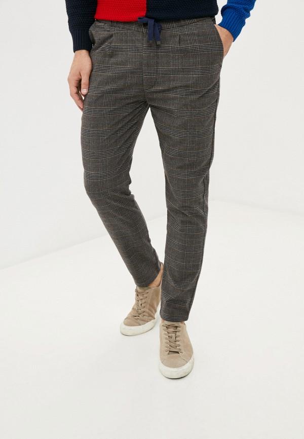 мужские классические брюки paul martin's, коричневые