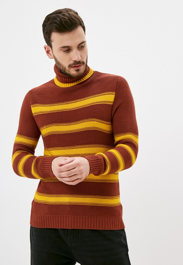 мужской свитер paul martin's, коричневый