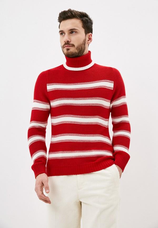 мужской свитер paul martin's, красный