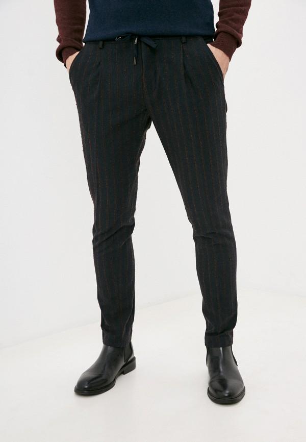 мужские зауженные брюки paul martin's, черные