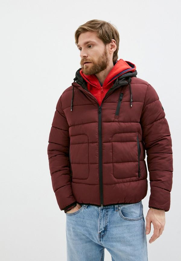 мужская куртка paul martin's, бордовая