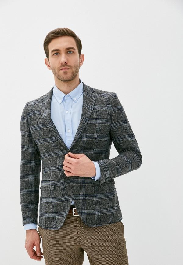мужской пиджак paul martin's, серый