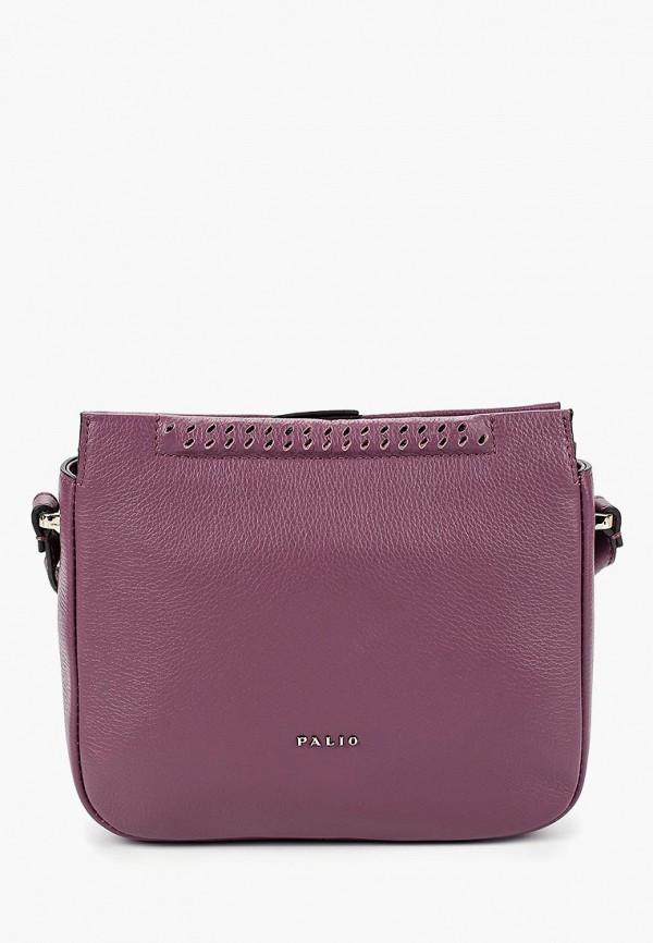 женская сумка через плечо palio, фиолетовая