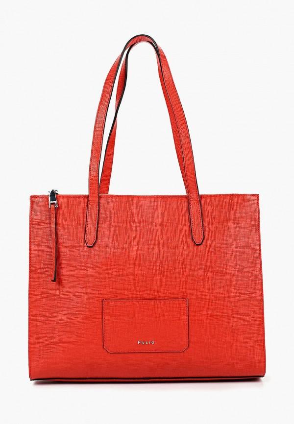 женская сумка palio, красная