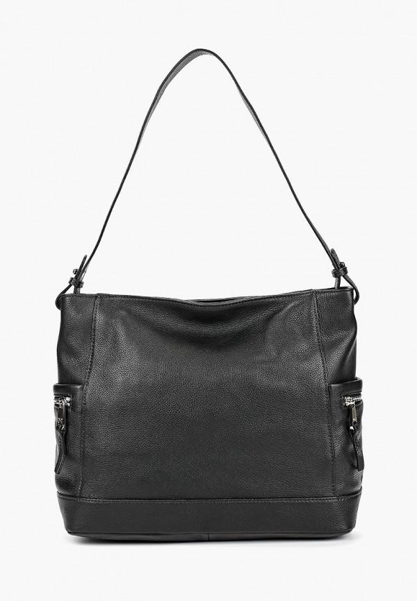 женская сумка с ручками palio, черная