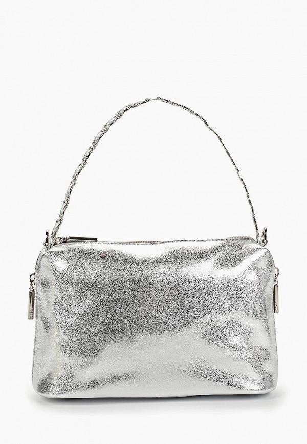 женская сумка palio, серебряная