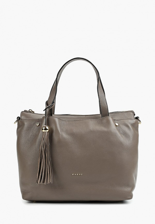 женская сумка palio, серая