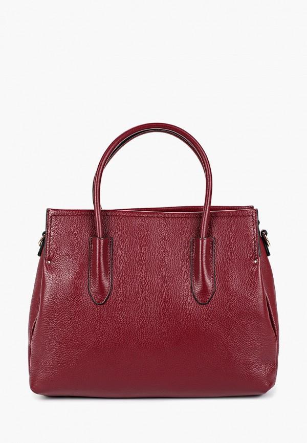 женская сумка palio, бордовая