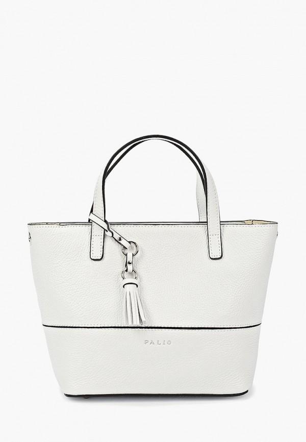 женская сумка через плечо palio, белая
