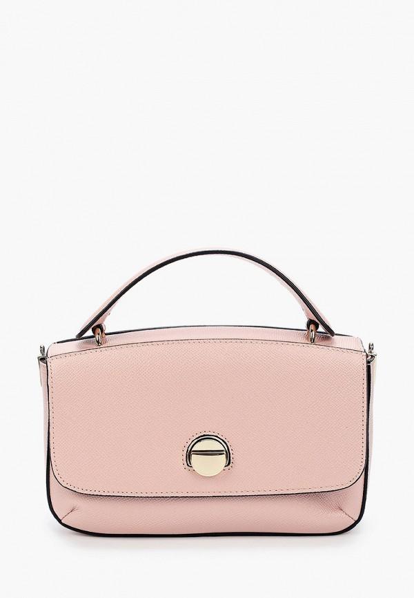 женская сумка через плечо palio, розовая