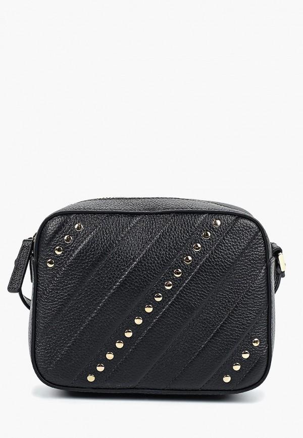 женская сумка через плечо palio, черная
