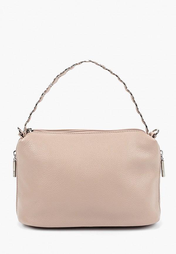 женская сумка через плечо palio, бежевая