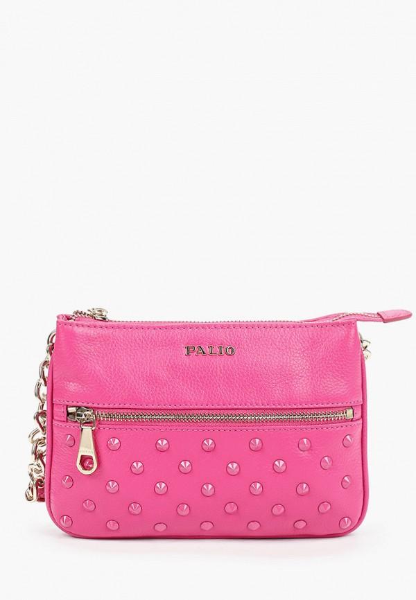 женская сумка palio, розовая