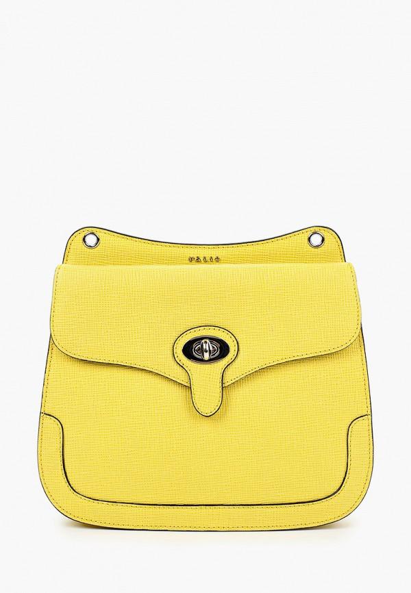 женская сумка palio, желтая