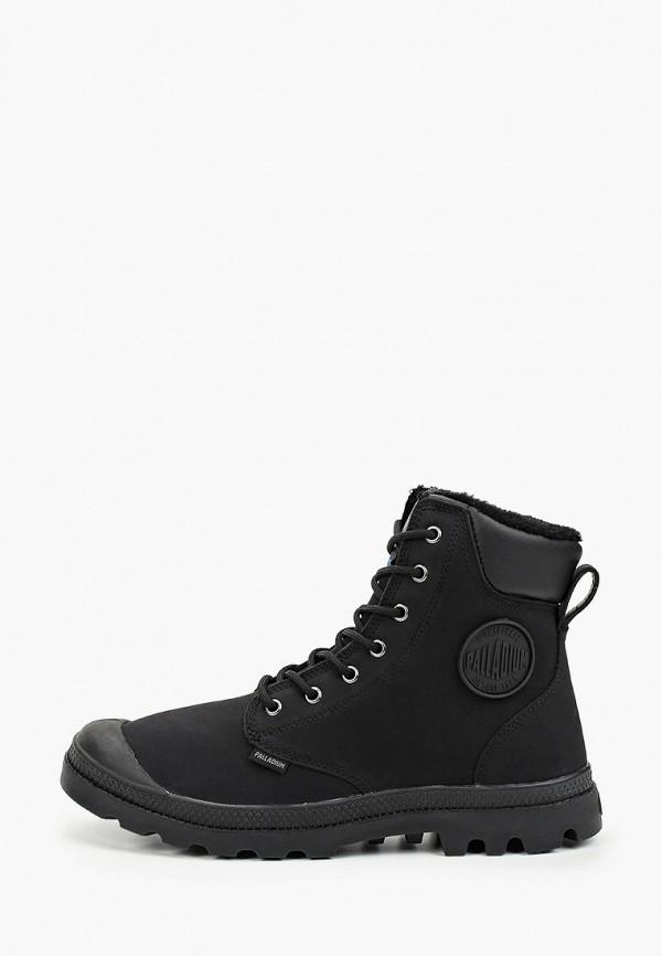 мужские ботинки palladium, черные