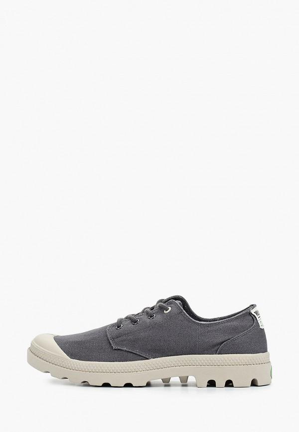 мужские низкие ботинки palladium, серые