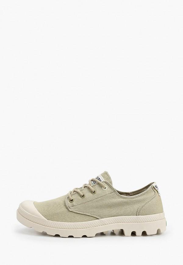 мужские низкие ботинки palladium, зеленые