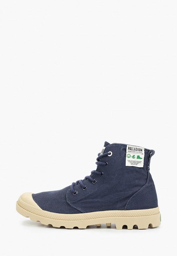 мужские ботинки palladium, синие