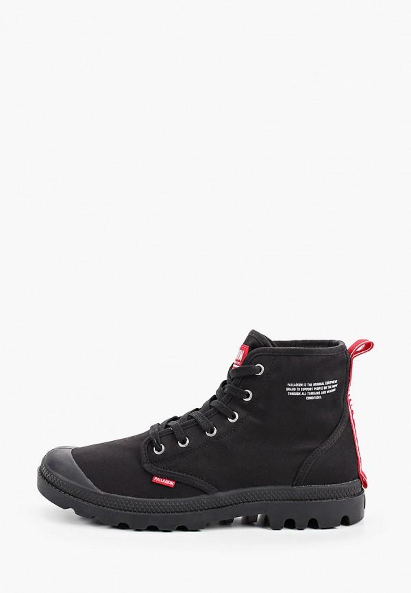 мужские высокие ботинки palladium, черные
