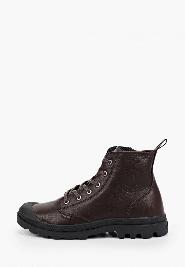 мужские ботинки palladium, коричневые