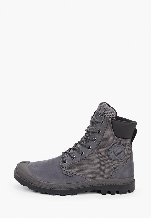 мужские ботинки palladium, серые