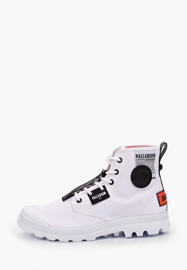 женские ботинки palladium, белые