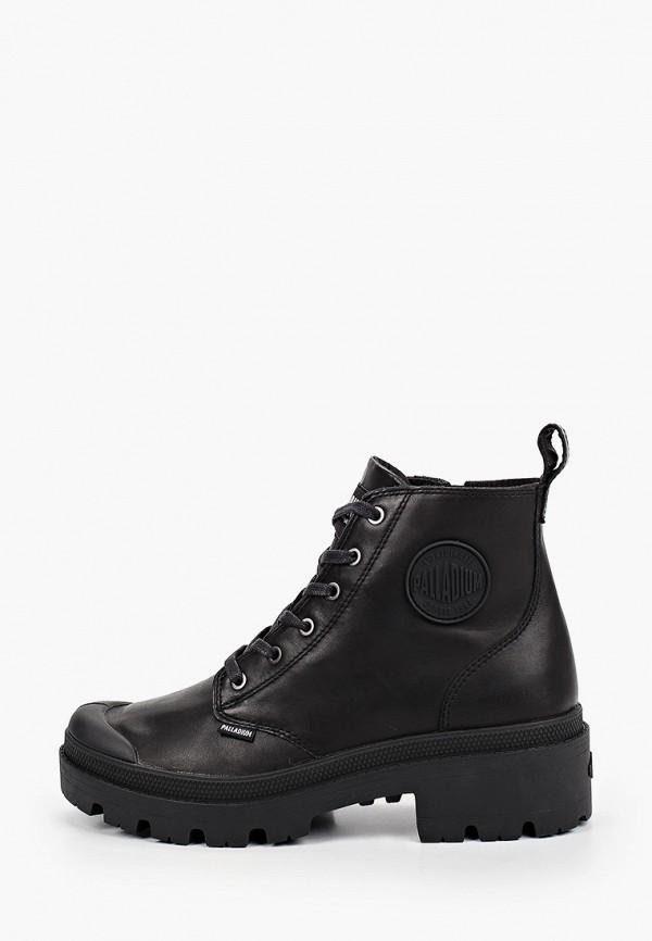 женские ботинки palladium, черные