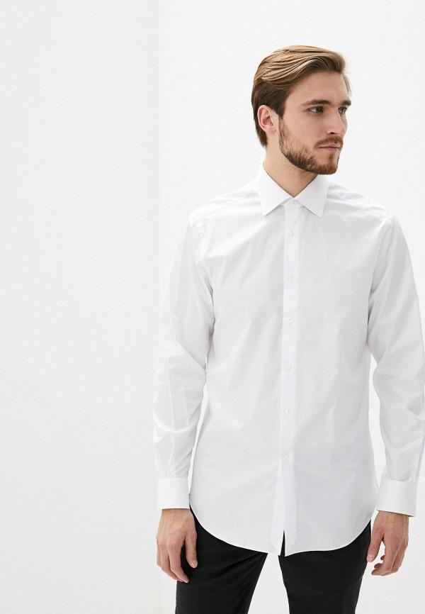 мужская рубашка с длинным рукавом pal zileri, белая