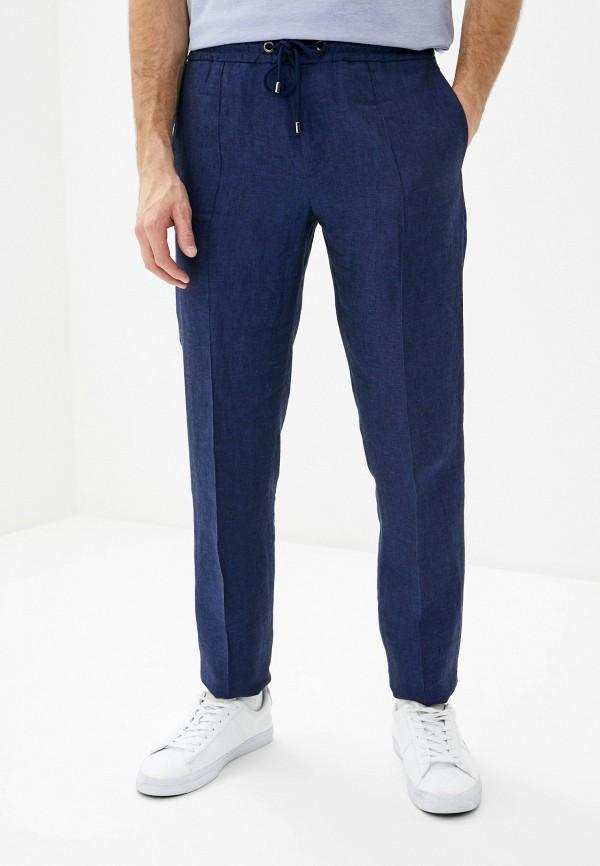 мужские повседневные брюки pal zileri, синие