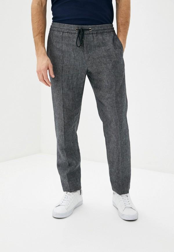 мужские повседневные брюки pal zileri, серые