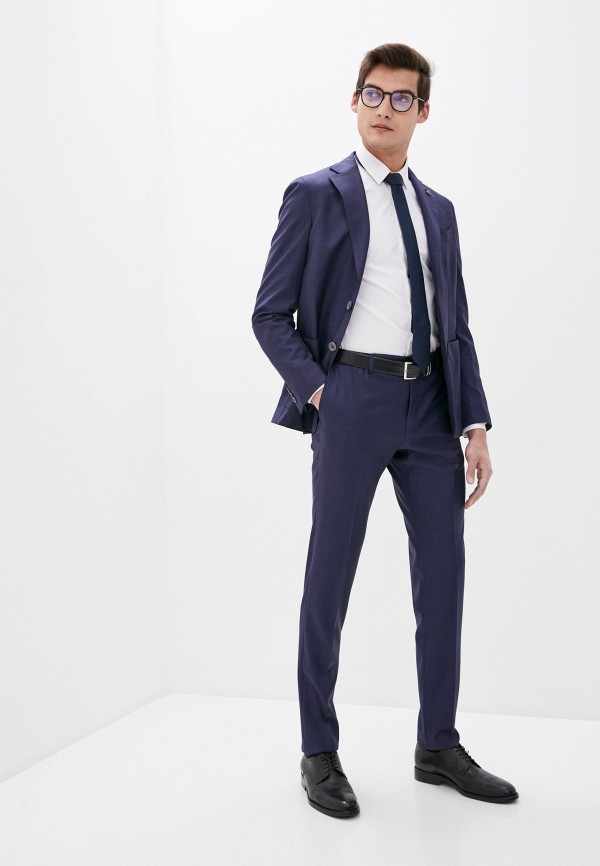 мужской классические костюм pal zileri, синий