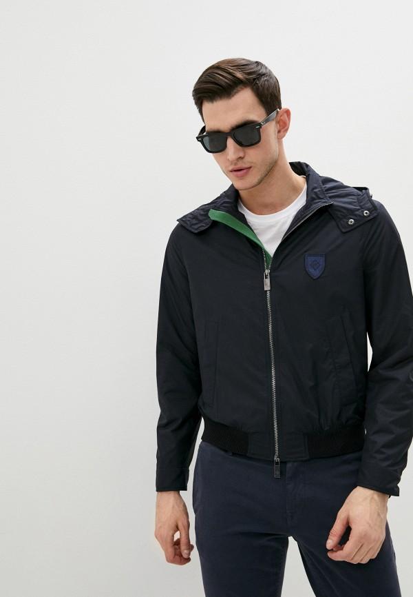 мужская куртка pal zileri, синяя
