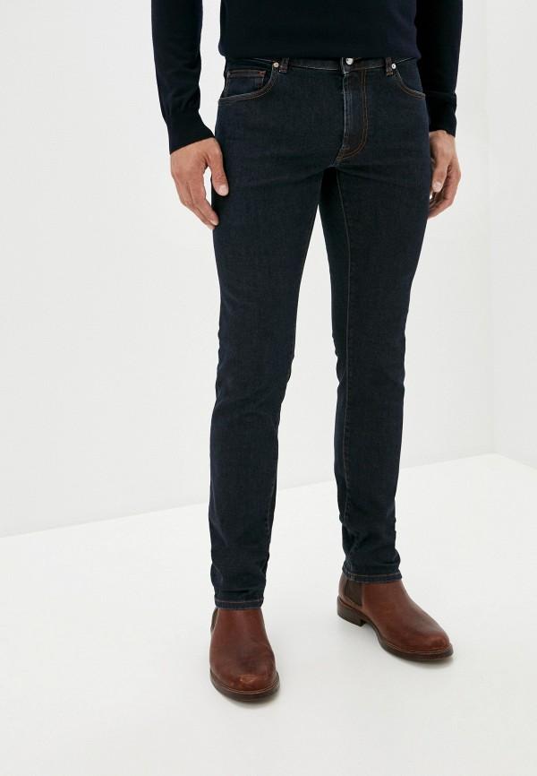мужские зауженные джинсы pal zileri, синие