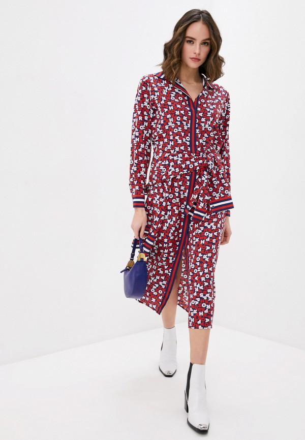женское повседневные платье p.a.r.o.s.h, разноцветное