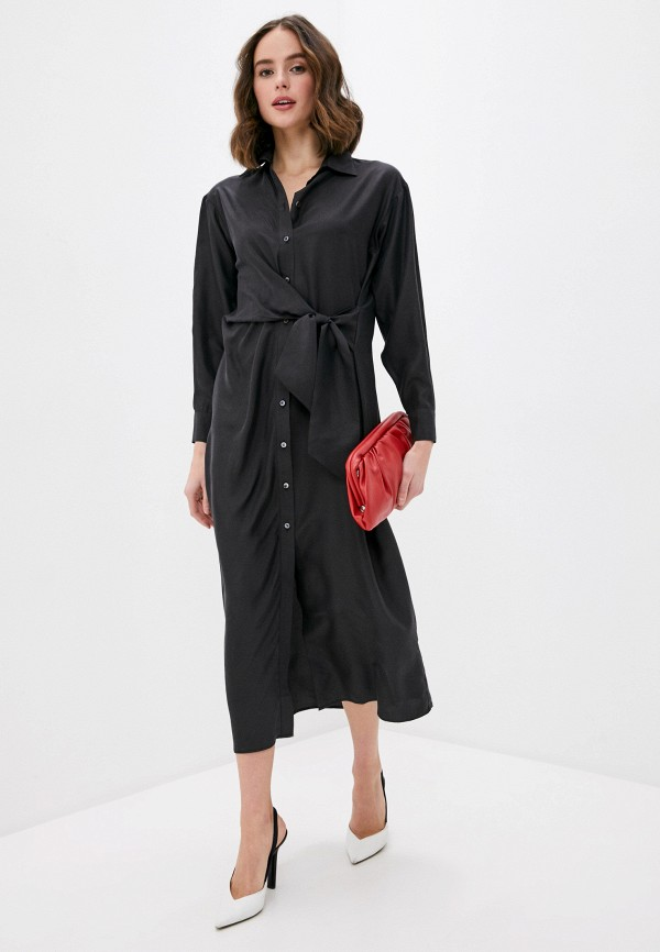 женское платье p.a.r.o.s.h, черное