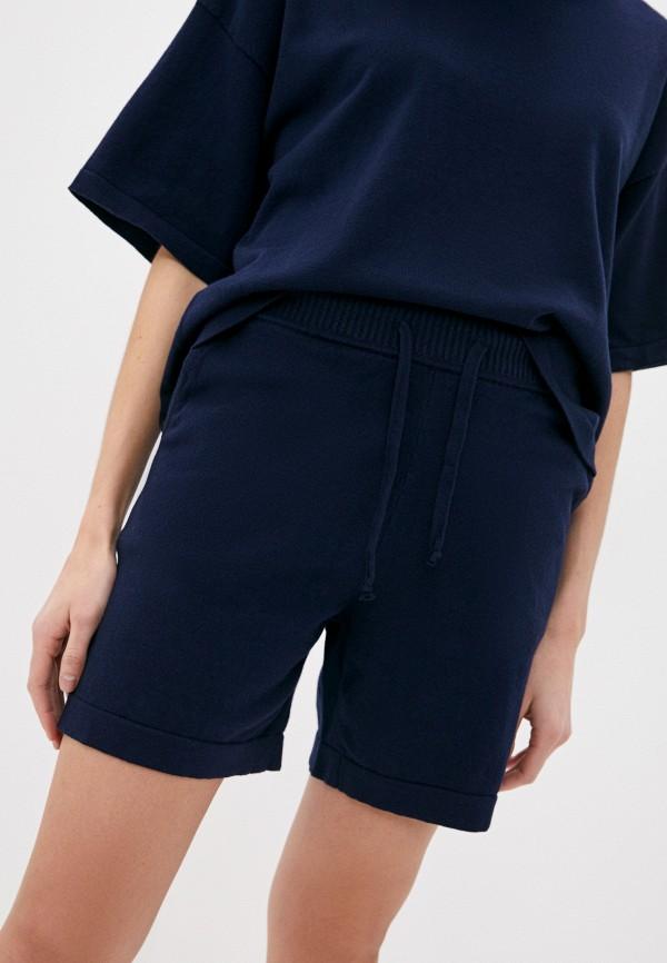 женские повседневные шорты p.a.r.o.s.h, синие