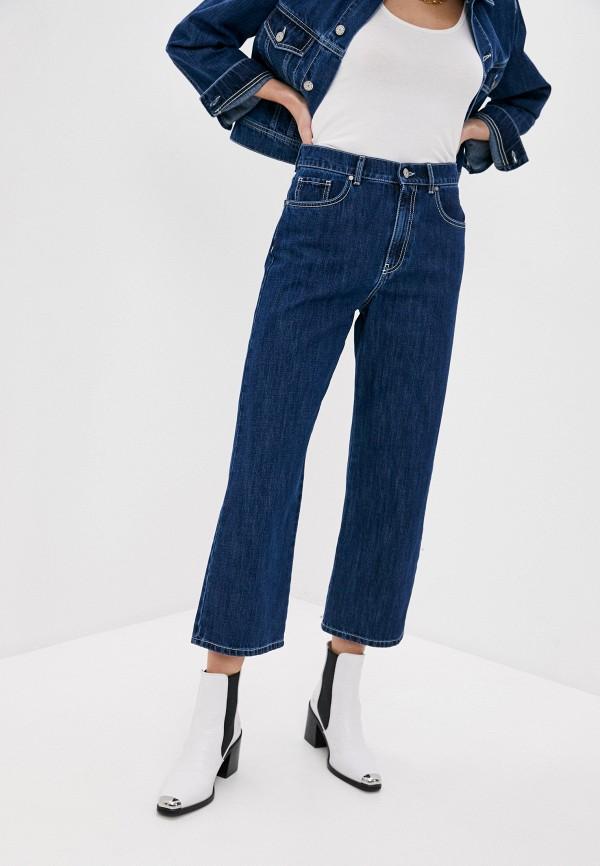 женские джинсы клеш p.a.r.o.s.h, синие