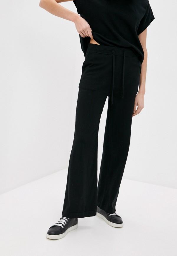 женские брюки p.a.r.o.s.h, черные