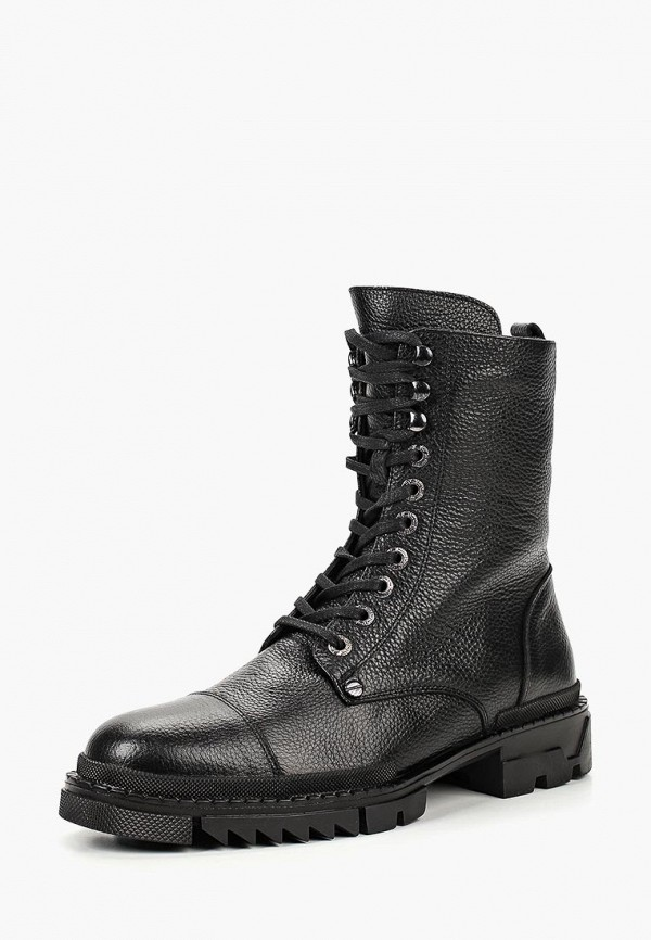 Купить Ботинки Paolo Conte, мех, pa743amcrgi7, черный, Осень-зима 2018/2019