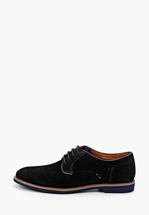 мужские туфли-дерби paolo conte, черные
