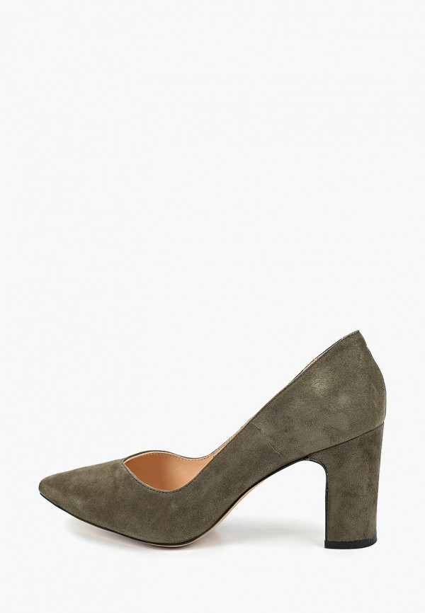 Женские осенние туфли на каблуке