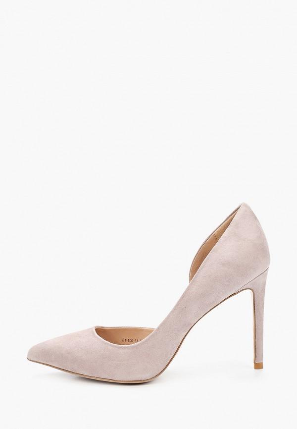женские туфли-лодочки paolo conte, розовые