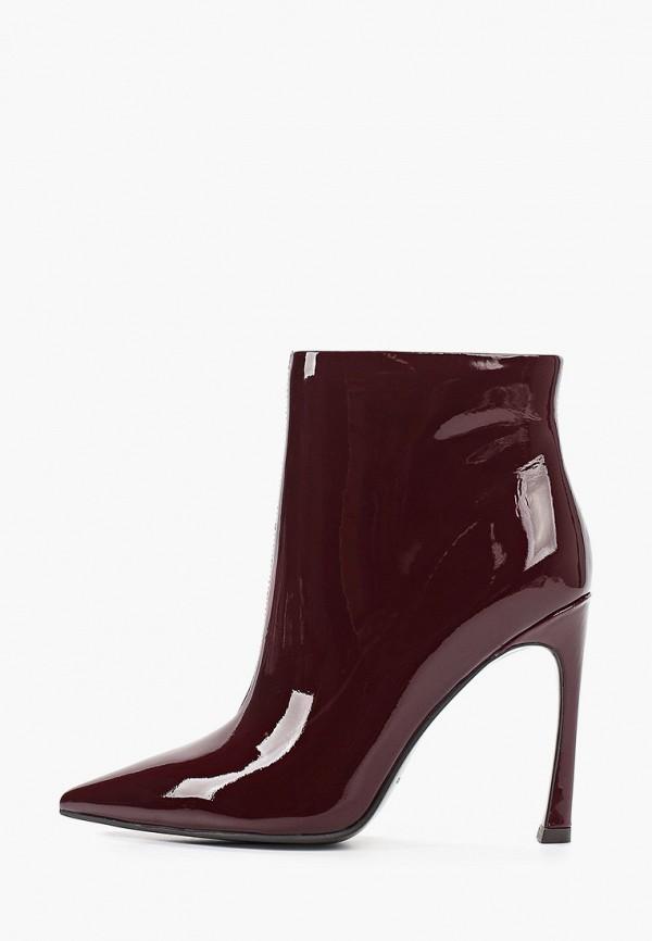 женские ботинки paolo conte, бордовые