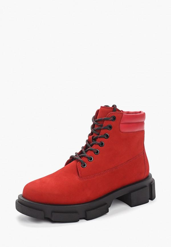 Фото 2 - женские ботинки и полуботинки Paolo Conte красного цвета