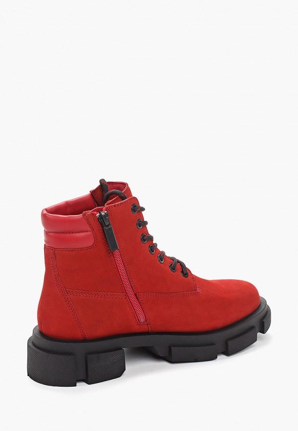 Фото 3 - женские ботинки и полуботинки Paolo Conte красного цвета